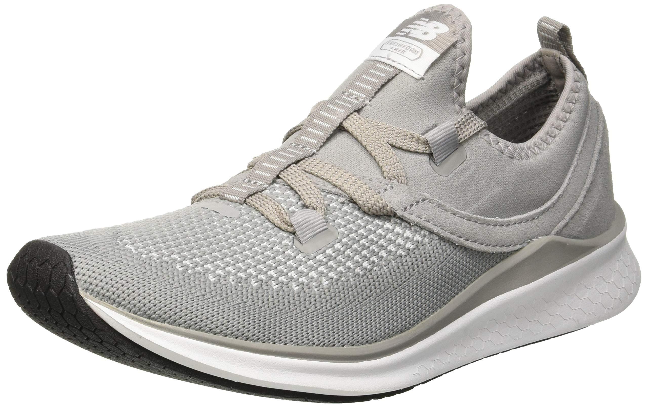 New Balance Damen Fresh Foam Lazr Sport Laufschuhe, Grey-Phantom-White-Coral