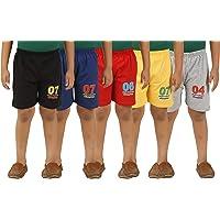 KIDDY STAR Baby Boy's Regular Shorts (Pack of 5)