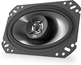 JBL Stage 6402 4x6 (101mm x 152mm) Koaxialer Auto-Lautsprecher (1 Paar) - Schwarz