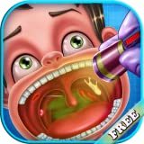 El médico de la garganta: Un juego educativo del médico para los niños - ser un médico de la...
