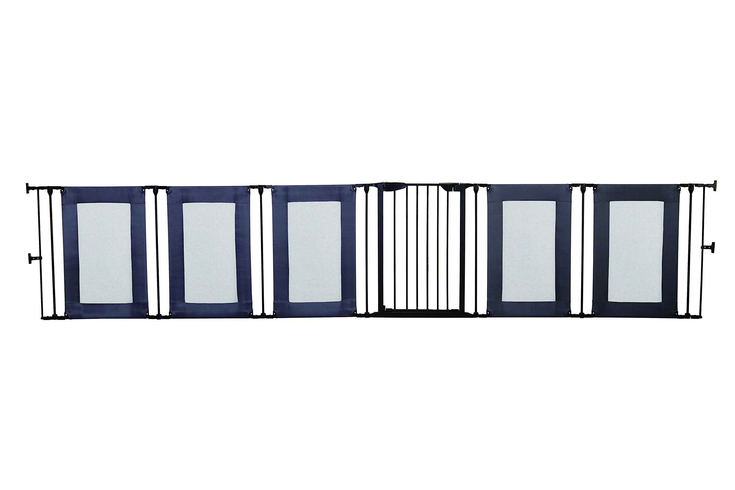 Dreambaby Brooklyn 3-in-1 Converta Dreambaby 6 modular panels including covenient walk-through gate Arrange panels to your specific layout Can be used as either a play-pen or extra-wide barrier gate 2
