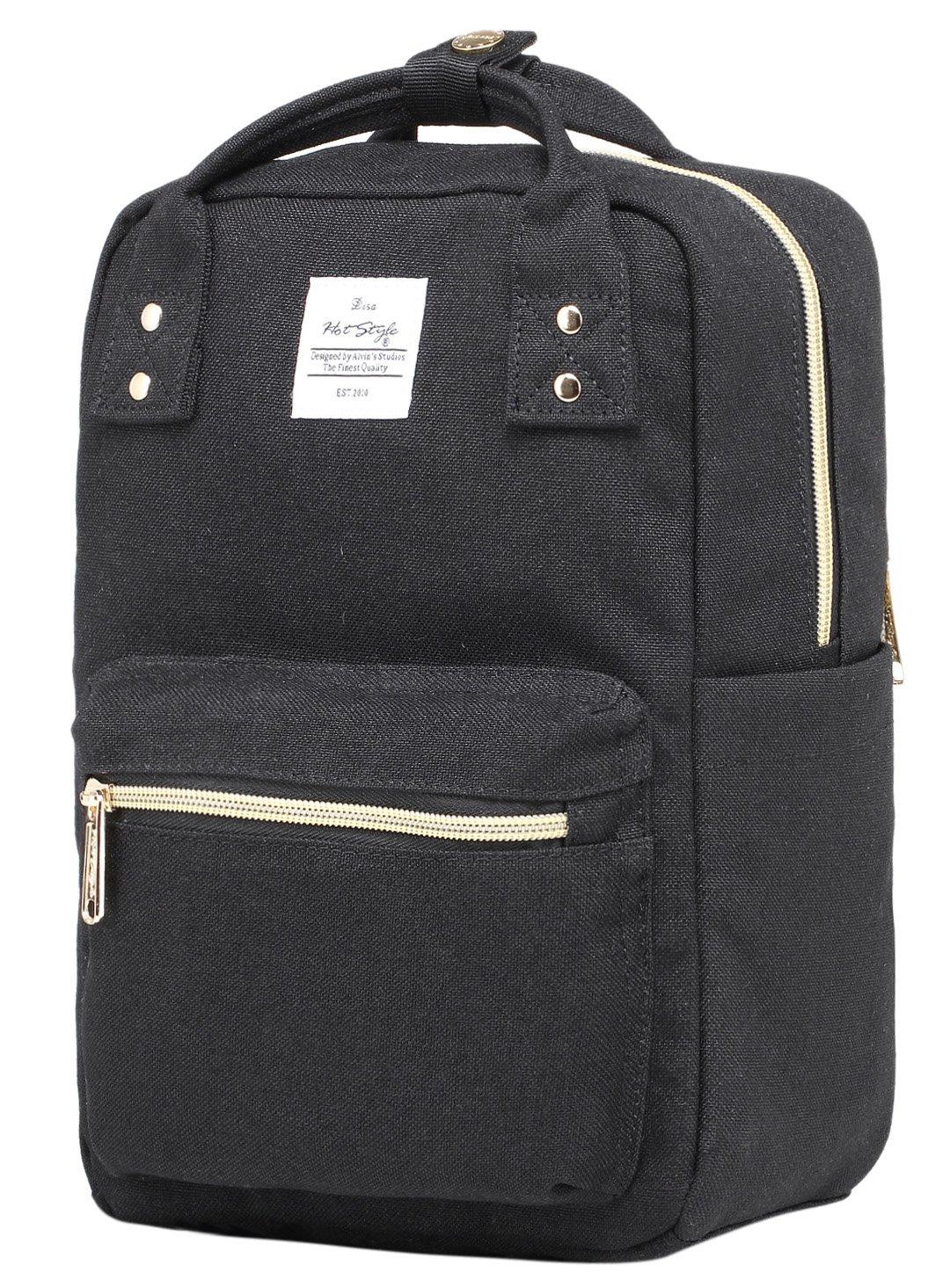 DISA Mini Bolso Mochila pequeño | Cabe un iPad de 10 Pulgadas | 29,5x20x11 cm | Rojo