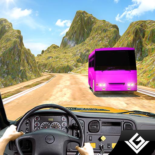 Offroad City Tourist Bus Simulator 3D: Transport Tourist im Bus fahren Parkplatz Racing Simulation Transporter Abenteuer Mission Spiele kostenlos für Kinder 2018 (Fahrer Taxi Spiele)