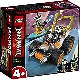 LEGO71706NinjagoDeportivoSísmicodeColeJuguetedeConstrucciónparaNiños+4añoscon2MiniFiguras
