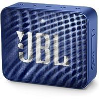 JBL Go 2 Portable Waterproof Bluetooth Speaker with mic (Deep Sea Blue)