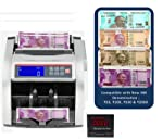 Stok Counting Machine with Fake Note Detector with Color Changing LCD Display