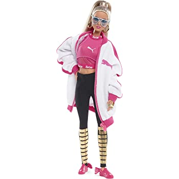 94b48204d63 Barbie DWF59 Fashion Puma Doll White Jacket