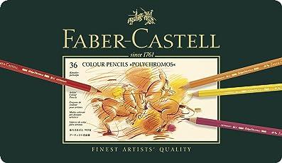 Faber Castell Polychromos Color Pencil Set - Pack of 36