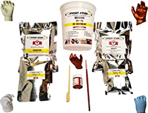 Copycat Studios 3D New Born Baby Single (1) Hand Casting Kit (White) - Molding Powder, Casting Powder,Container,Decorative Accessories