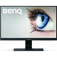 BenQ GW2480 Monitor LED Eye-Care da 23.8 Pollici, Full HD, 1920 x 1080, Slim Bezel, Sensore Brightness HDMI/DP