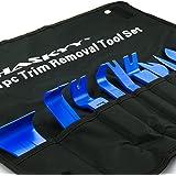 Verktyg för borttagning av biltrimning I demontering trim lister klädsel montering kilar trim kil I Kit 11 st.