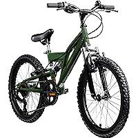 Galano FS180 20 Zoll Fahrrad Kinder ab 6 Jahre Kinderfahrrad Jungen Mädchen Mountainbike Fully Fahrrad für Kinder MTB…