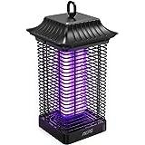 Aerb Lampe Anti Moustique,4000V Moustique Tueur Lampe est Étanche,18W UV Tueur d'Insectes Électrique Anti Insectes Répulsif ,