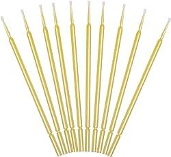 10 Lacktupfer gelb zum ausbessern kleinster Autolack Schäden oder zur Verwendung im Modellbau
