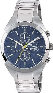Orologio BREIL uomo GAP quadrante blu e bracciale in acciaio, movimento CHRONO QUARZO