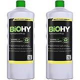 BiOHY Matt schampo (2 x 1l flaska)   Mattrengörare perfekt för att ta bort envisa fläckar SÄRSKILT UTVECKLAT FÖR RENGÖRING AV