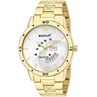Redux Analogue IPG Golden Dial Men's & Boy's Watch