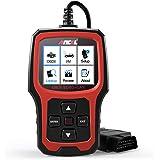 ANCEL AD410 OBD II Fordonskontroll Motor Ljus Skanningsverktyg Automatisk OBD2-skanner med I/M-beredskap