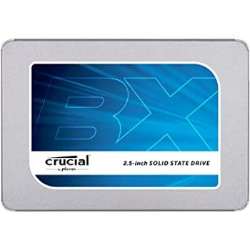 Crucial BX300 CT120BX300SSD1 SSD Interno, 120 GB, 3D NAND, SATA, 2.5 Pollici