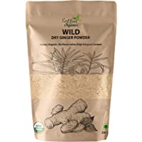 First Bud Organics Dry Ginger Powder 250 g| High Gingerol Content | Organic Ginger Powder
