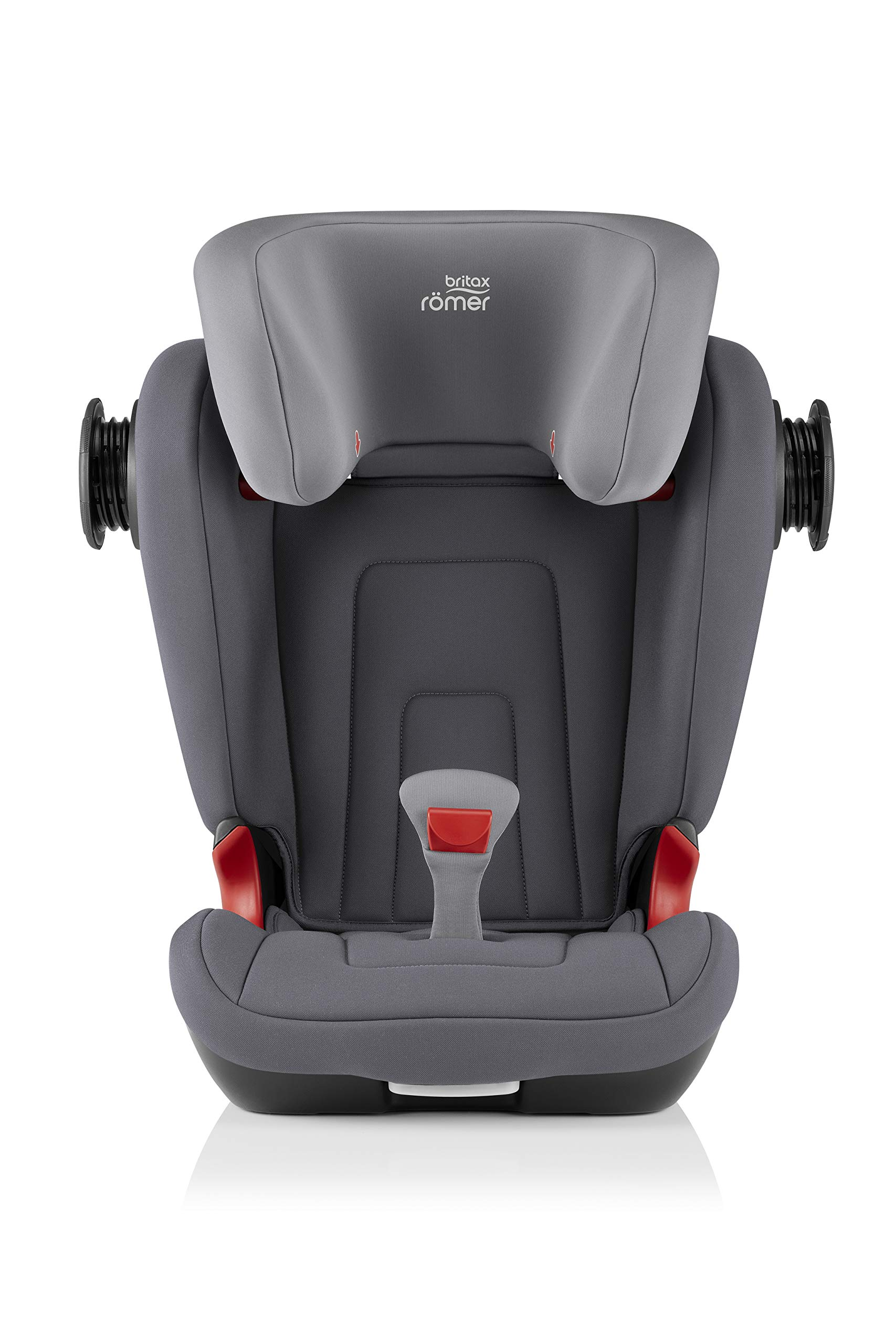 Britax Römer KIDFIX² S Group 2-3 (15-36kg) Car Seat - Storm Grey  Advanced side impact protection - sict offers superior protection to your child in the event of a side collision. reducing impact forces by minimising the distance between the car and the car seat. Secure guard - helps to protect your child's delicate abdominal area by adding an extra - a 4th - contact point to the 3-point seat belt. High back booster - protects your child in 3 ways: provides head to hip protection; belt guides provide correct positioning of the seat belt and the padded headrest provides safety and comfort. 6