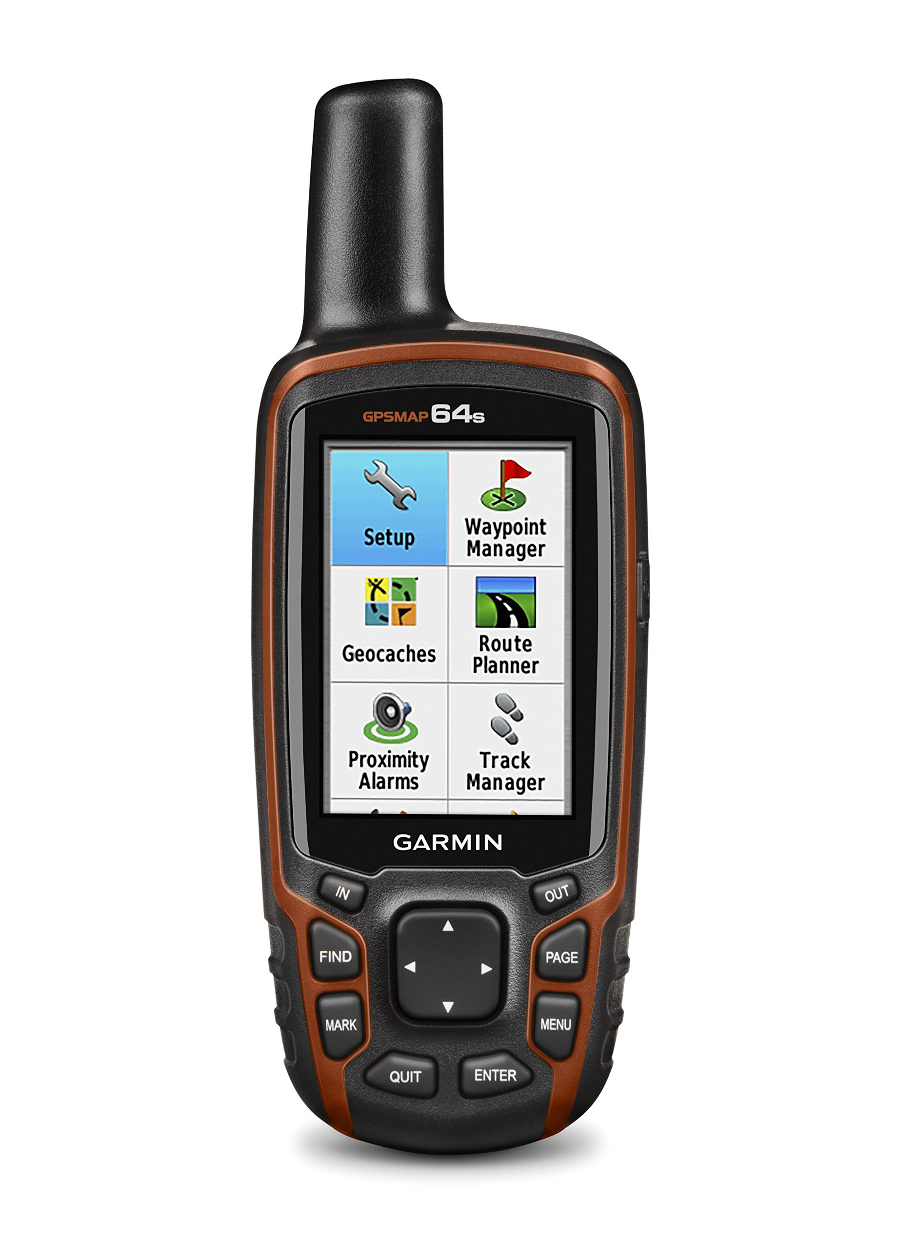 Garmin GPSMAP 64s Handheld Navigator,Black/Red 4