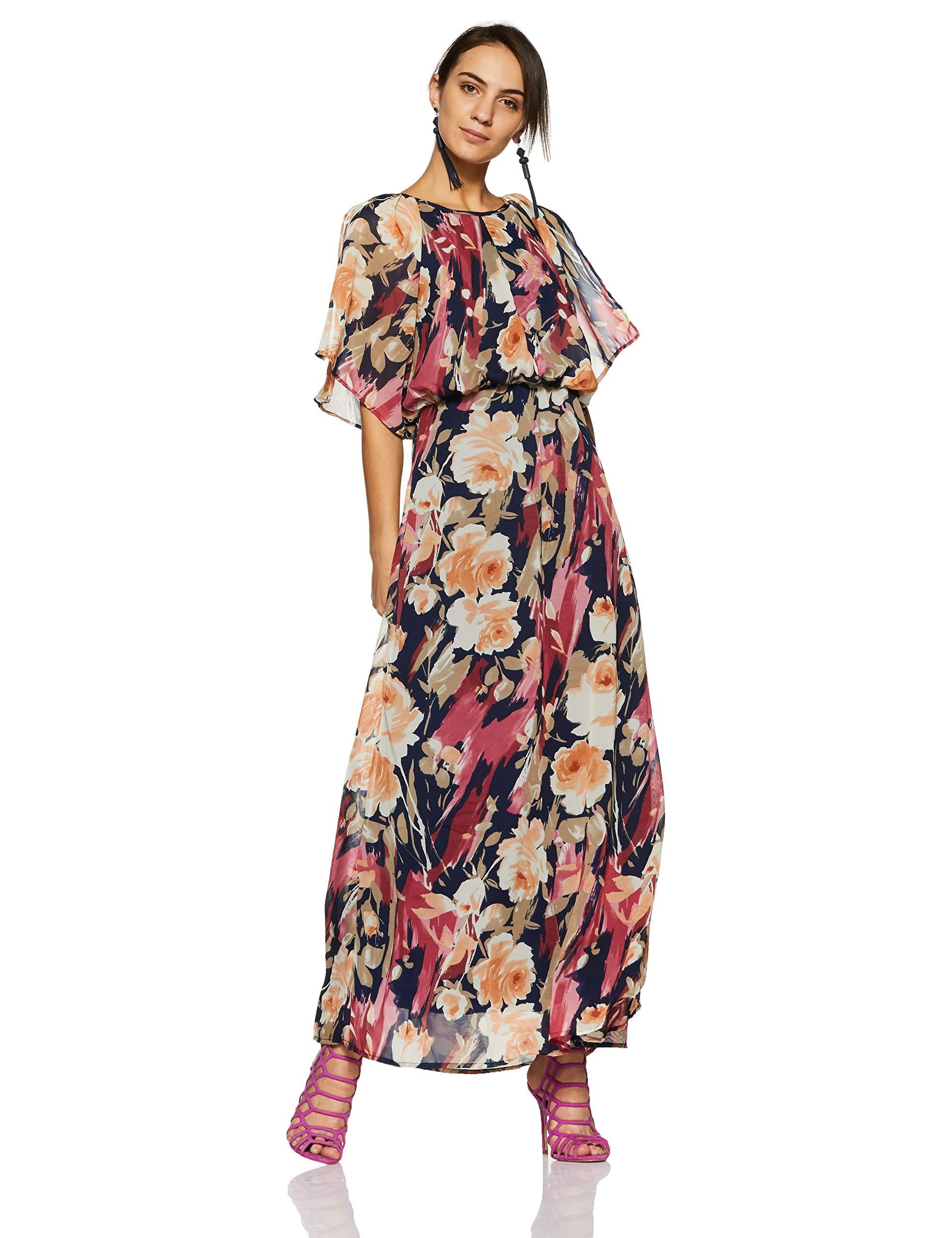 Harpa Multi Women's Maxi Dress (GR3667-MULTI)