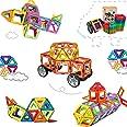 Morkka Bloques de construcción de Bloques magnéticos de 104 Piezas Juegos educativos para niños, de Construction Building Set