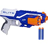 Nerf Disruptor Elite Blaster, 6-Dart Rotating Drum, Slam Fire, Includes 6 Official Nerf Elite Darts, For Kids Ages 8 and…