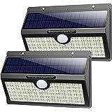 Luz Solar Exterior, Pxwaxpy【286 LED & 2600 Lumen】 Luces Solares con Sensor de Movimiento Foco Solar Exterior, 2500mAh Lámpara