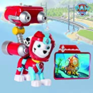 Paw Patrol Sea Patrol – Light Up Marshall with Pup Pack and Mission Card
