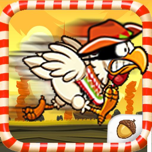 The Funky Chicken Ninja -