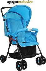 LuvLap Baby Stroller, Blue