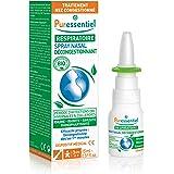Puressentiel - Respiratoire - Spray Nasal Hypertonique - Bio - Décongestionnant pour rhume, rhinite, sinusite, rhinopharyngit