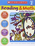 Scholastic Success with Reading and Math Jumbo Workbook: Grade 2