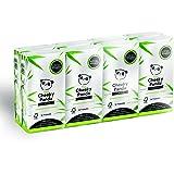 The Cheeky Panda - Bamboe Pocket Tissues, Hypoallergeen, Milieuvriendelijk, Super Zacht, Sterk & Duurzaam, 80 count