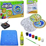 Ekta Paint and Make a Real Clock Toys Game Kids Educational DIY Kit School Project