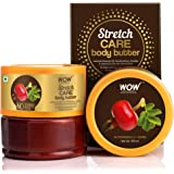WOW Skin Science Stretch Care Body Butter powered with Lavender Essential Oil, Rosehip Oil - For All Skin Types - No Parabens