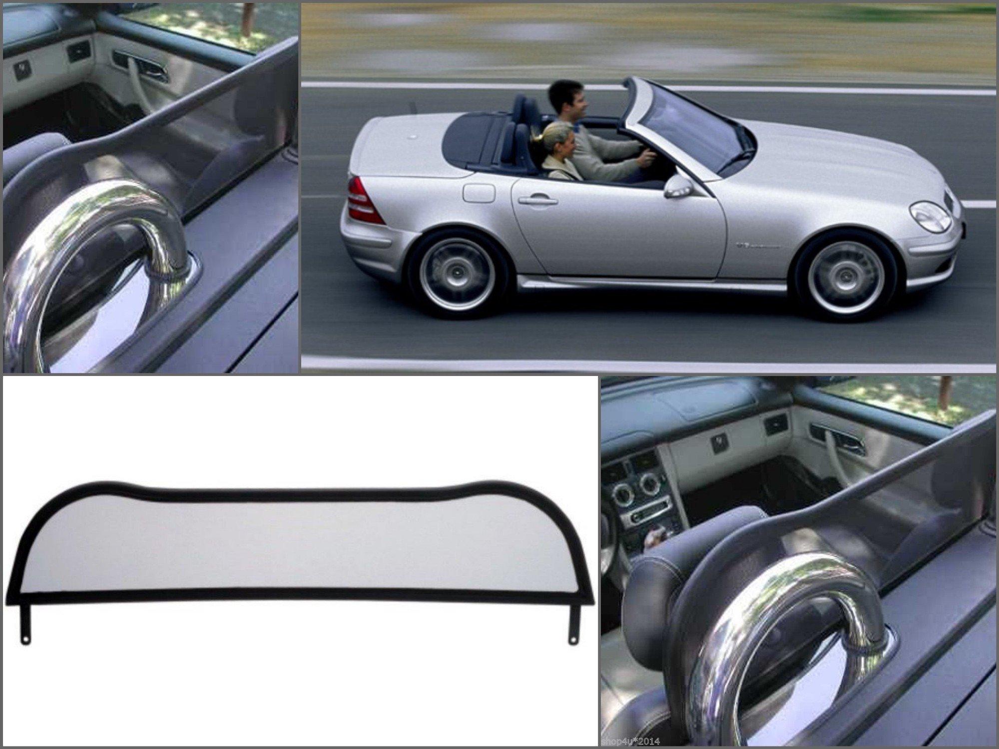 Deflettore aria per Mercedes SL R107 Paravento per decappottabili 1971-1989 Frangivento