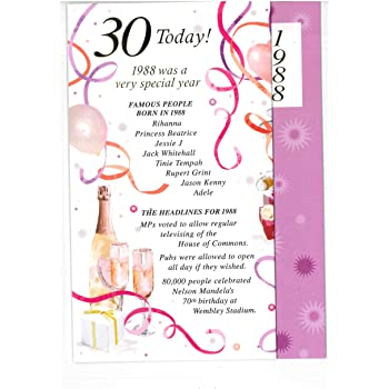 SIMON ELVIN 2018 SPECIAL YEAR YOU WERE BORN FEMALE BIRTHDAY CARDS