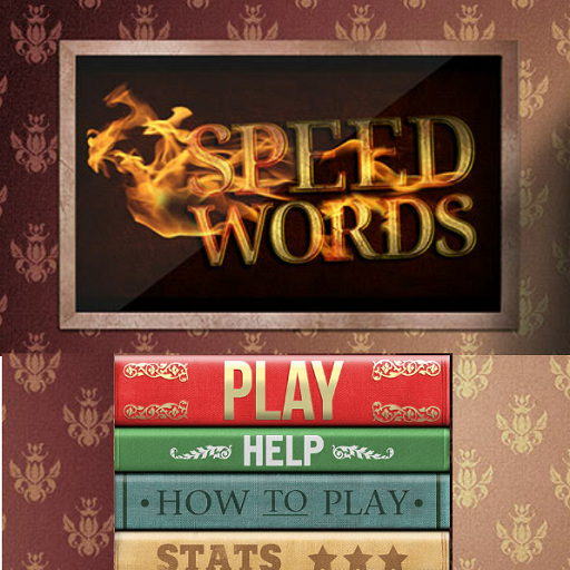 Speed Words HD Free (Make Words Fast Game) (Kindle Tablet Edition)