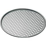 MasterClass KitchenCraft Non Stick Pizza Crisper Tray for Oven, 32 cm