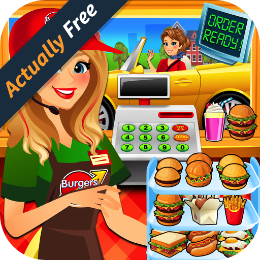 drive-thru-simulator-kids-fast-food-coffee-burger-fries-games-free