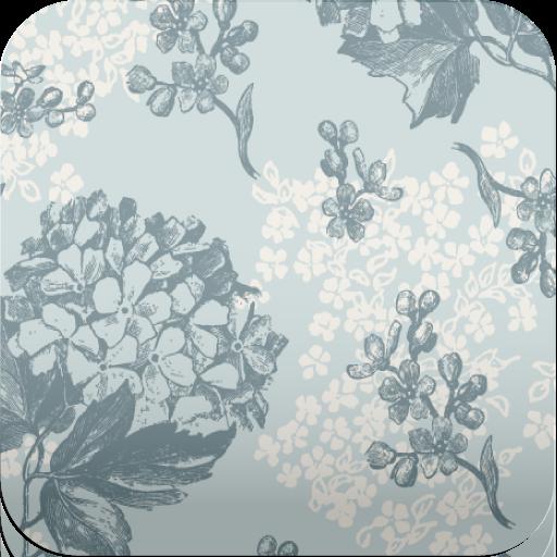 Retro Floral Wallpaper (retro floral wallpaper)