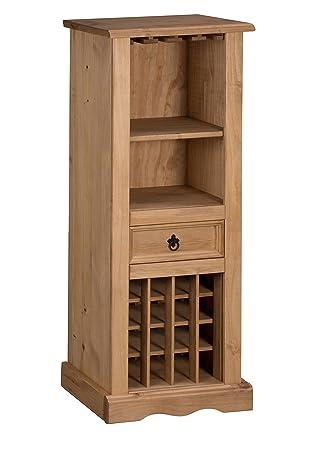 Mercers Furniture Corona Weinregal, Holz, Antique Wax, 56 X 36 X