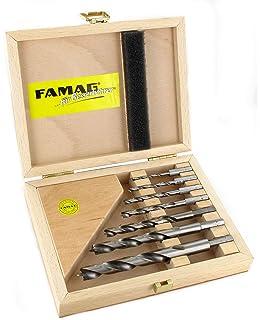FAMAG 1596 Holzspiralbohrer-Bits kurz HSS-G Ø=3,5 mm