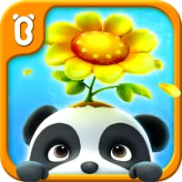 Baby Panda's Flower Garden