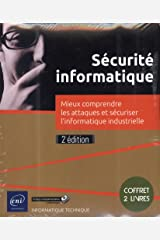 Sécurité informatique - Coffret de 2 livres - Mieux comprendre les attaques et sécuriser l'informatique industrielle (2e édition) Broché