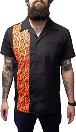 mazeys Retro Rockabilly Bowling Shirts