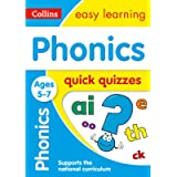 Phonics Quick Quizzes Ages 5-7: Ideal for home learning (Collins Easy Learning KS1)